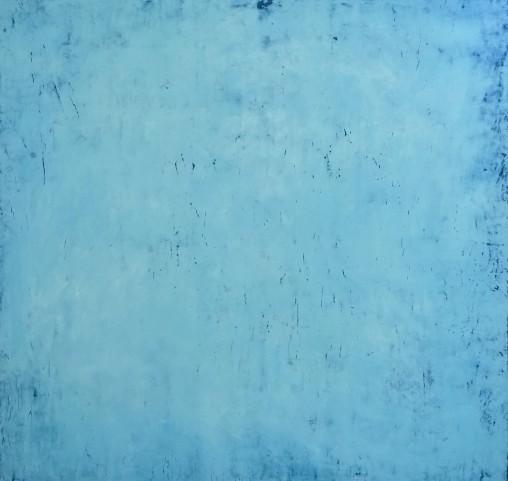 Chromotomes Blau  2015  80 x 80 cm